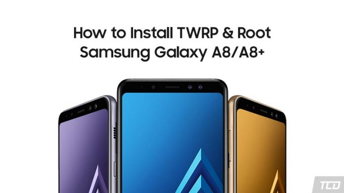 How to Root Samsung Galaxy A8/A8+ and Install TWRP Recovery