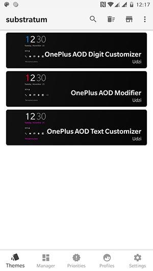 Personalice la pantalla siempre encendida en OnePlus 6 / 5T / 5 - Superposiciones del personalizador de AOD