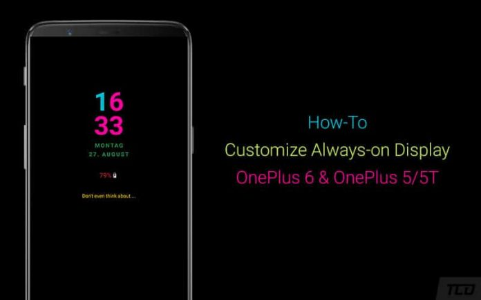 How to Customize Always-on Display on OnePlus 6 and OnePlus 5/5T