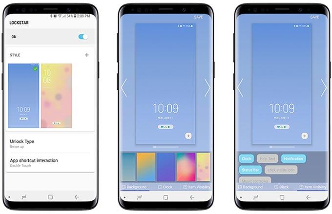LockStar en Samsung Good Lock 2018
