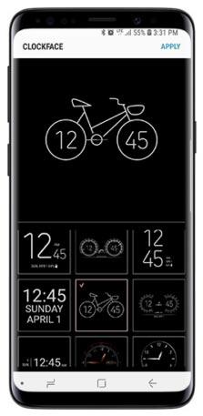 ClockFace en Samsung Good Lock 2018
