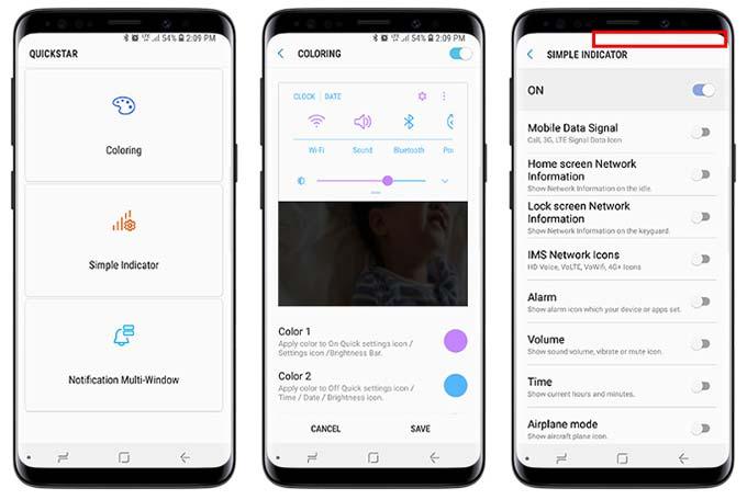QuickStar en Samsung Good Lock 2018