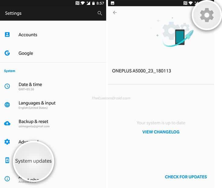 Instale OxygenOS Open Beta 11/9 en OnePlus 5 / 5T usando Local Upgrade-1
