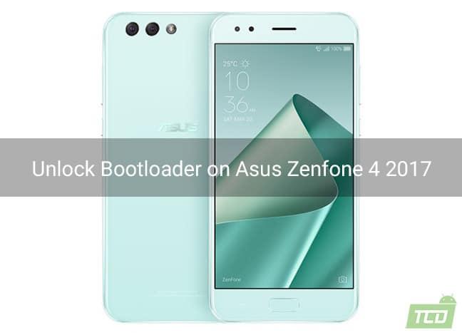 Unlock Bootloader on Asus Zenfone 4 2017