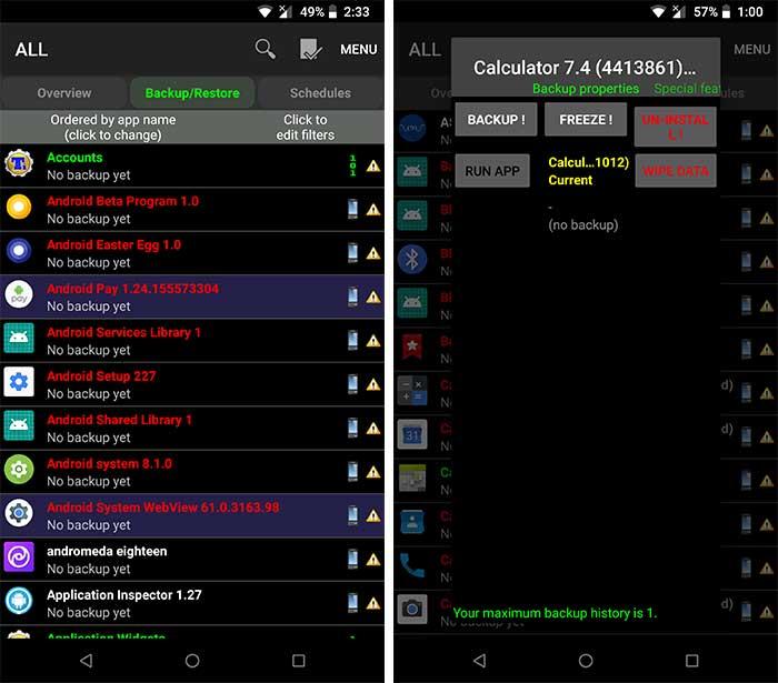 Eliminar Bloatware en Android: desinstalar aplicaciones del sistema con Titanium