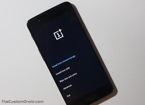 Downgrade OnePlus 5 Android Oreo - Recuperación de stock