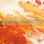 Descargue e instale la ROM Paranoid Android 7.3.1
