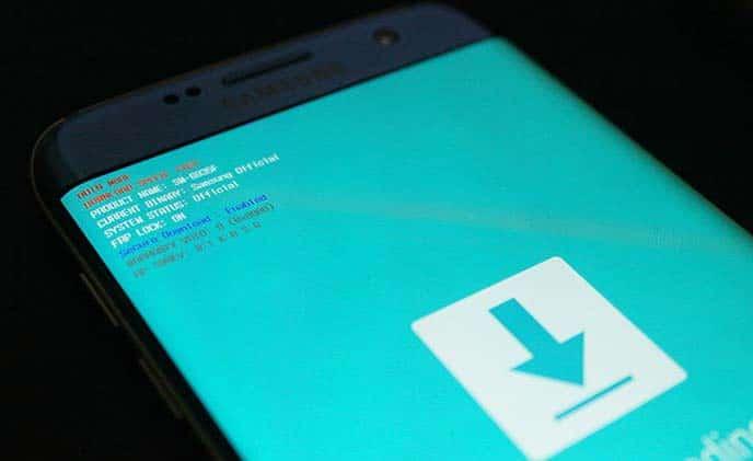 Arranque Galaxy Note 8 en modo de descarga