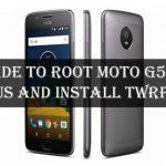 Instale TWRP Recovery y Root Moto G5S Plus (lijadoras)