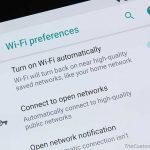 Obtenga la opción 'Activar Wi-Fi automáticamente' para Nexus 6P / 5X en Android Oreo