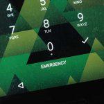 Cómo quitar el botón de llamada de emergencia de la pantalla de bloqueo (raíz y no raíz)