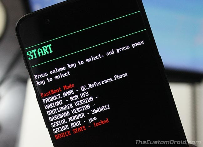 How to Boot OnePus 5 Bootloader And Recovery Mode