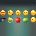 Emojis recientes y motor de búsqueda para iOS