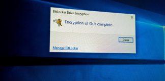 Cómo usar el cifrado de unidad BitLocker en Windows 10, 8.1 y 7