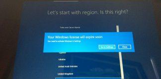 Solución: su licencia de Windows caducará pronto, pero Windows 10 está activado