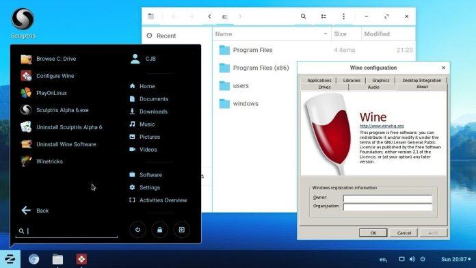 Cómo ejecutar la aplicación de Windows en Linux usando Wine 4.0