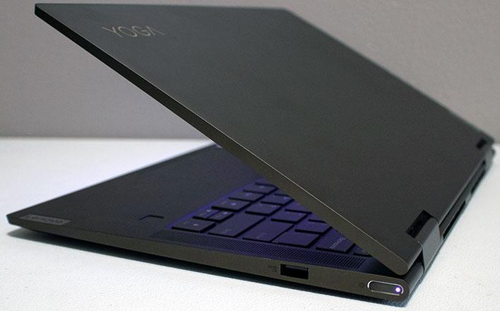 Puertos Lenovo Yoga 7i - Derecha