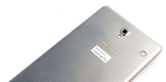 Revisión de Samsung Galaxy Tab S, Android de estante superior