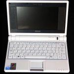 Asus Eee PC 4G-X, Vista previa de unboxing de Windows XP