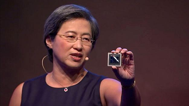 AMD de 7 nm Vega GPU Lisa Su