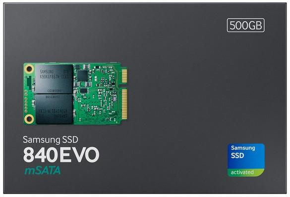 Revisión de Samsung SSD 840 EVO mSATA