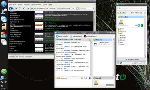 Revisión del sistema operativo Presto Instant-On