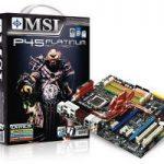 Placas base MSI P45 Platinum y Diamond