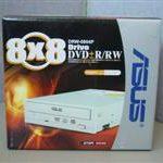Grabadora de DVD de formato dual 8x de Asus: la DRW-0804P