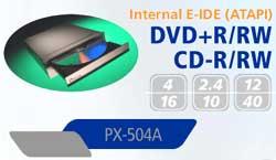 Unidad de DVD + R / RW Plextor PX504A