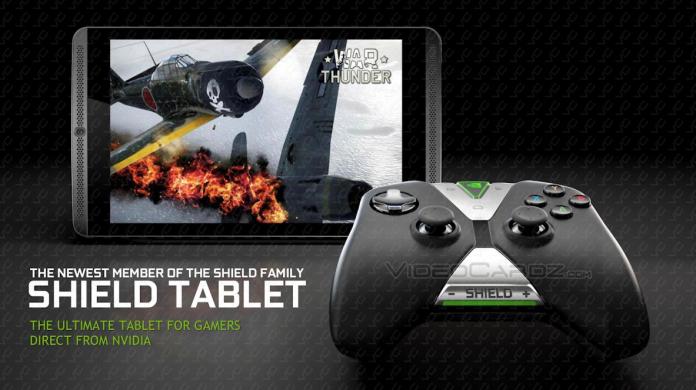 Especificaciones de la tableta Nvidia Shield, controlador revelado
