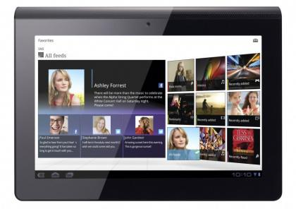 Sony Tablet S frontal