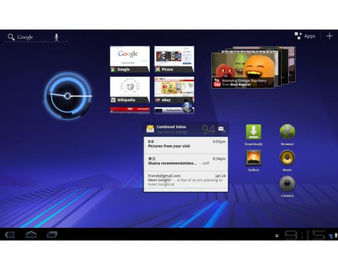 Manos a la obra: revisión de Android 3.0 (Honeycomb)