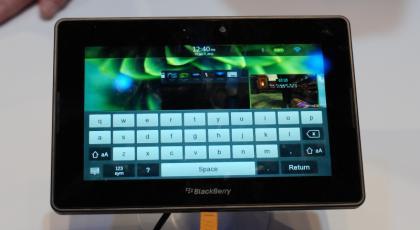 Teclado BlackBerry PlayBook