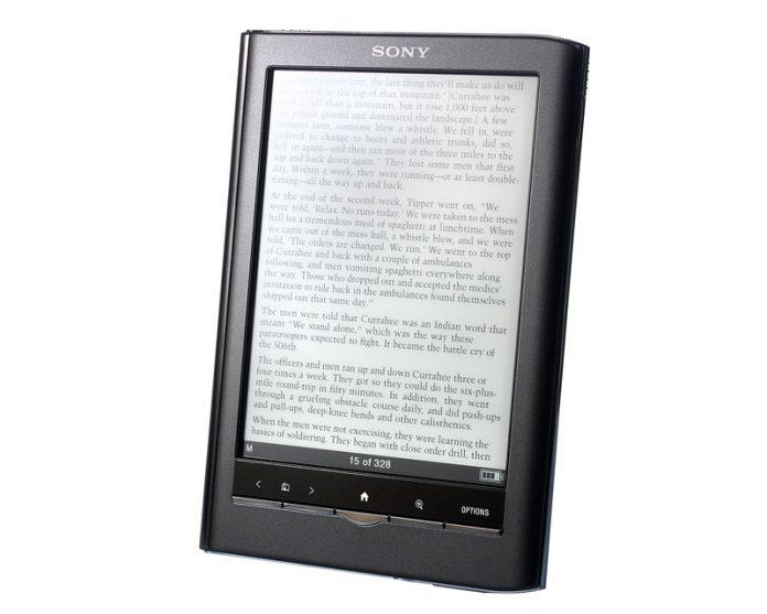 Revisión de Sony Reader PRS-650 Touch Edition