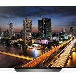 Revisión de LG B8 OLED (OLED65B8): brillo de pantalla grande