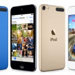 iPod touch 2015 presenta varios colores nuevos