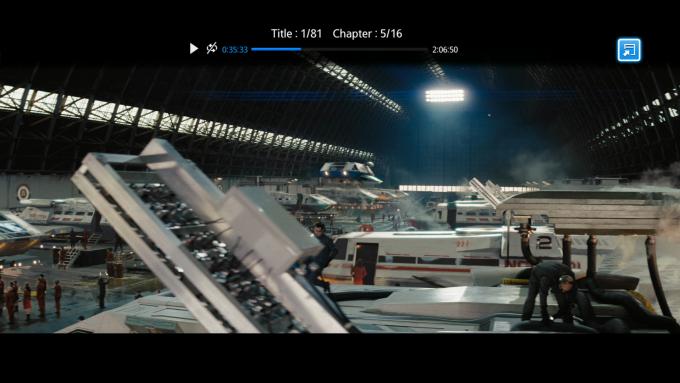 Captura de pantalla de Samsung BD-H6500 Blu-ray