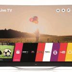 LG lanza el primer televisor OLED 4K curvo del mundo