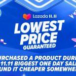 Lazada ahora subsidia artículos seleccionados con mayores descuentos en la última etapa de la venta del 11.11