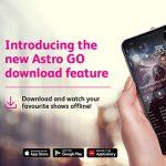 La aplicación móvil Astro GO ahora incluye una nueva función de descarga