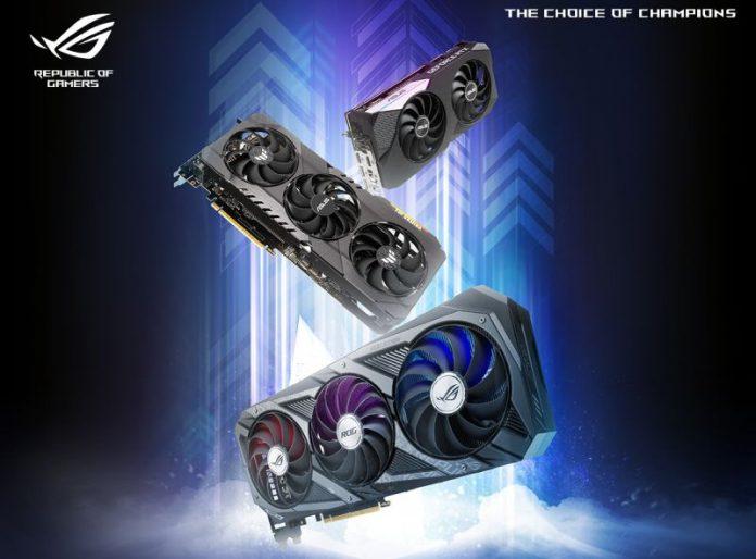 ASUS lanza la línea de tarjetas gráficas GeForce RTX 3070 en Malasia;  Disponible desde RM2699