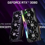 Las tarjetas EVGA XC3 Ultra Gaming y FTW3 Gaming RTX 3080 ya están disponibles en Malasia;  Comienza desde RM3899