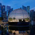 Apple ofrece un vistazo al interior de su nueva tienda flotante en Singapur