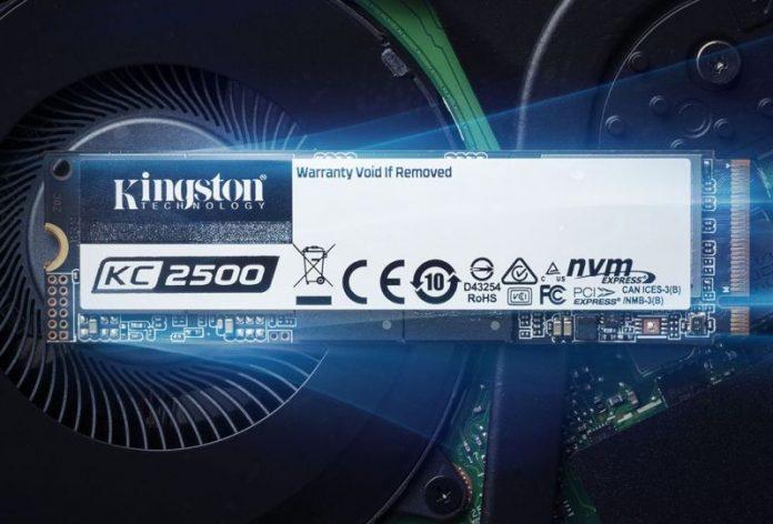 Kingston lanza KC2500 NVMe PCIe M.2 SSD en Malasia;  Comienza desde RM285