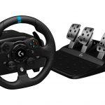 Logitech G923 es un nuevo volante de carreras con sistema de retroalimentación TrueForce