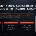 Los procesadores AMD Ryzen serie 4000G ahora son oficiales;  Solo disponible para integradores OEM