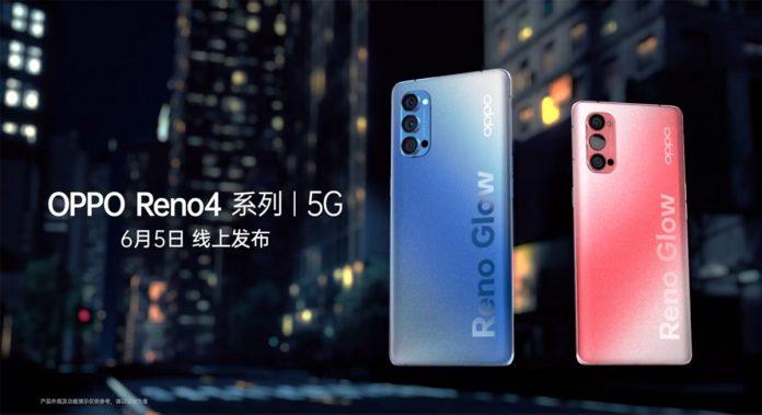 OPPO Reno4 se lanzará en China el 5 de junio;  Especificaciones supuestamente filtradas