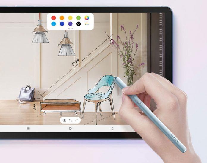 El supuesto Samsung Galaxy Tab S7 Plus podría enviarse con una enorme batería de 9800 mAh