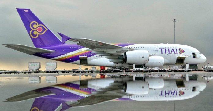 Thai Airways solicita protección por quiebra;  Acepta el plan de rehabilitación