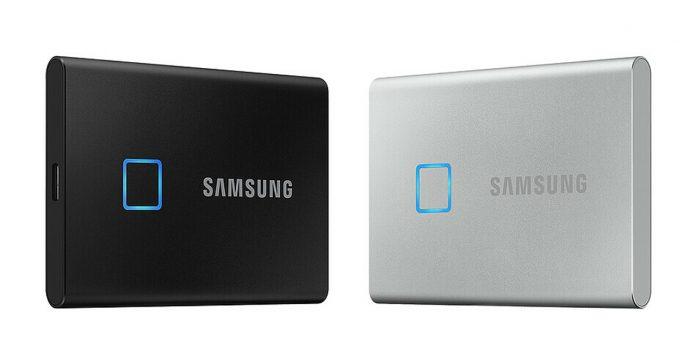 Samsung anuncia el SSD portátil T7 Touch;  Cuenta con un sensor de huellas dactilares